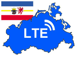 LTE Versorgung in Mecklenburg-Vorpomemrn